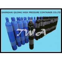 China 2-15L  Alloy Steel Seamless Steel Gas Cylinder / Co2 Argon Gas Cylinder for sale