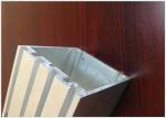High Precision Aluminium Square Profile Custom Drawing Mould Rectangular Shape