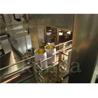 China Drink Liquid Can Filling Machine For Soda Water / Coca Cola / Juice/Gas Drinks for sale