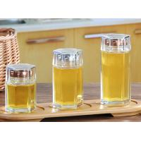 Wholesale Small Glass Honey Jars / Transparent Glass Storage Jars For Cosmetic With Lid from china suppliers