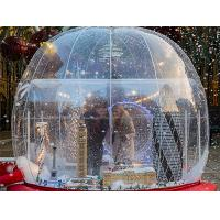 Wholesale Outdoor Inflatable Advertising Products Transparent Christmas Snow Globe from china suppliers