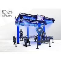 Wholesale 220V 9D Virtual Reality Walking Platform Multiplayer Interactive VR Shooting Games from china suppliers