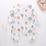Wholesale Zero Formaldehyde Cotton Baby Pajamas , Organic Toddler Pajamas Healthy Portable from china suppliers