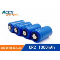 Quality CR2 3.0V 1000mAh LiMnO2 Battery non-recharegable battery primary battery for sale