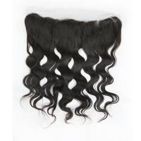 Wholesale Pure Raw Brazilian Human Hair Lace Closure / Silk Base Lace Frontal Closure from china suppliers