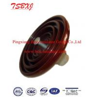 Wholesale suspension disc type porcelain insulator from china suppliers