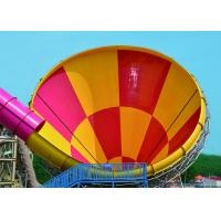 Buy cheap Outside Tornado Water Slide Playground For Amusement 1 Year Wanrranty from wholesalers