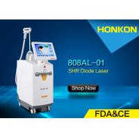 Wholesale High Performance 808nm Diode Laser Chest / Back / Leg Hair Removal Machine 120J/cm² from china suppliers