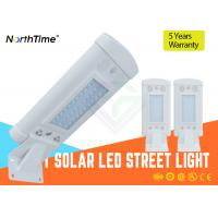 Buy cheap 3 - 4 Meter Pole 10 W LED Solar Panel Street Lights With Aluminum Alloy Shell from wholesalers