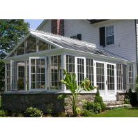 China Modern Green Aluminium Greenhouse Polycarbonate , Portable Small Aluminium Greenhouse on sale