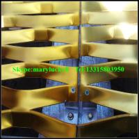 Buy cheap Decorative expanded mesh facade/expanded metal mesh facade from wholesalers