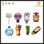 Wholesale Avengers USB Flash Drive 4G Iron Man 8G Pen Drive 16G Captain America 32G USB Stick Hulk Thor PenDrive U Disk USB Drive from china suppliers