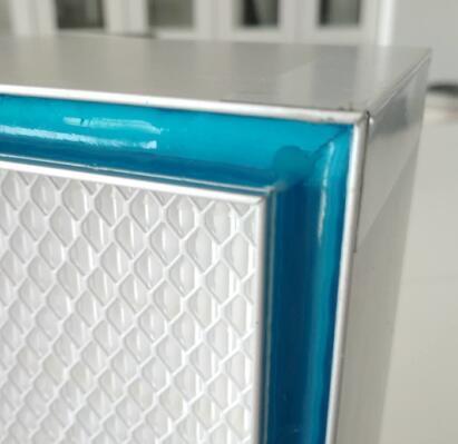 Top Side H14 Gel Seal HEPA Filter