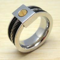 China Fashion Men′s Stainless Steel Jewelry Ring (HXR442) on sale