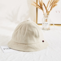 Wholesale Warm Faux Lamb Plush Winter Fisherman Bucket Hat For Women Girls from china suppliers