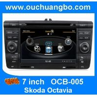 Wholesale Ouchuangbo S100 DVD gps audio player Skoda Octavia with BT AUX 20 disc super quality OCB-005 from china suppliers