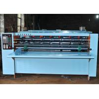 Buy cheap semi-automatic corrugated paperboard slitting scoring thin blade  machine from wholesalers