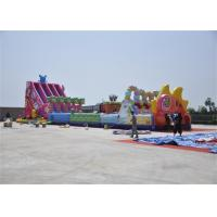 Quality Exciting Inflatable Obstacle Course , Adrenaline Rush Inflatable Extreme Obstacle Course for sale