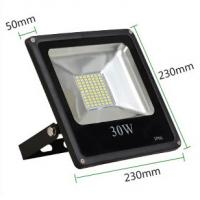 Wholesale 30W led reflector led lamp dimmable flood lighting black grey aluminum housing single 110V from china suppliers
