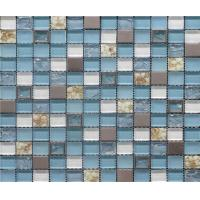 Wholesale Water Proof Ice Cracked Crystal Glass Mosaic Tile For Kitchen Backsplash from china suppliers