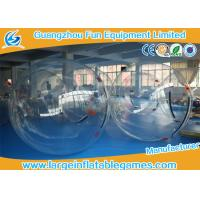 Wholesale Clear Inflatable Water Walking Ball Water Toys For Water Pool , Sea , Water Park from china suppliers