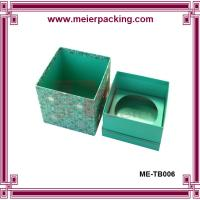 Wholesale Elegent facial cream box, art paper green cosmetic gift box for whosesale ME-TB006 from china suppliers