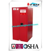 Wholesale 60 Gallon Industrial Paint Storage Cabinets Steel For Flammables And Combustibles from china suppliers