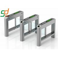 Quality Dual Swing Barrier Gate Turnstile High-end Establishments IR Sensor Pedestrian for sale