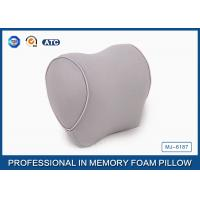 Quality Compact Molded Memory Foam Airplane Pillow Travel Neck Rest Pillow , Lightweight for sale