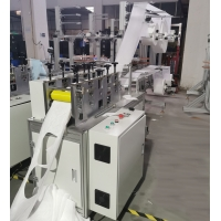 Wholesale Folding Nose Strip Antivirus Non Woven Mask Making Machine from china suppliers
