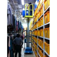 Quality 2.8m Mast Type Electric Order Picker , Semi - Electric Mobile Stock Picker for sale