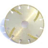 Wholesale Diamond Plated Grinding Wheels , Electroplated Diamond Disc For Stone from china suppliers