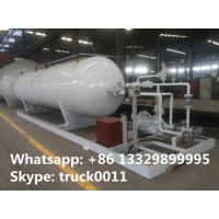 Buy cheap 20,000L mobile skid-mounted lpg gas refilling station for gas cylinders, 8 metric tons skid-mounted propane plant from Wholesalers