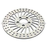 292mm Harley Davidson Parts Front Brake Rotors Discs With Heat Treatment Process for sale