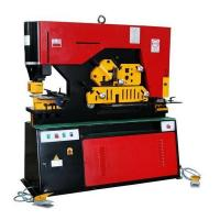 Buy cheap High Efficiency Metal Iron Worker Hydraulic Ironworkers With Double Cylinder from Wholesalers