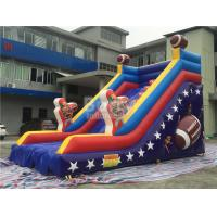 Wholesale Customized Single Lane Rugby Commercial Inflatable Slide For Playground from china suppliers