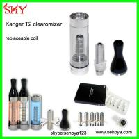 Wholesale Original Kanger T2 clearomizer long wick replaceable bottom coil cool Vapor Wholesale from china suppliers
