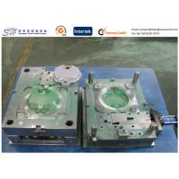 Professional Thin Wall Custom Injection Molding , Custom PVC Molding Plastic Cover for sale
