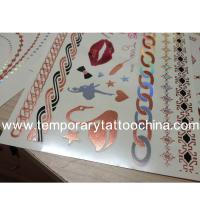 Wholesale Metallic temporary custom UV change colors tattoo stickers from china suppliers