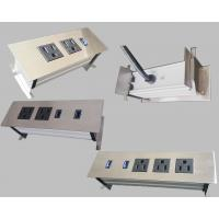 Wholesale 3 Outlets Furniture Power Strip , Embedded Tabletop Desktop Power Sockets from china suppliers