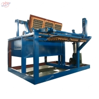 China 2200pieces/H 185kg/H Paper Egg Tray Making Machine on sale