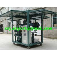 Quality High Reliability Weather-Proof Enclosed Type Transformer Oil Purifying Machine for sale