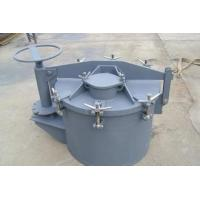 China Round Hatch Covers, Horizontally Opening Oil Tight Hatch Cover For Oil Tanker on sale