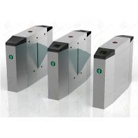 Wholesale Pedestrian automatic systems turnstiles / Stainless Steel turnstile security gates from china suppliers