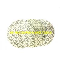 Wholesale Universal Diamond Resin Polishing Pads , 3 - Step Diamond Hand Pads For Stone from china suppliers