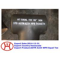 Wholesale ASTM A234 WP9 Equal Tee from china suppliers