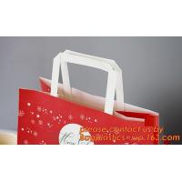 Wholesale Multicolor paper gift bag, colorful kraft paper shopping bag, Recycled Flat Handle Brown Krafts Paper Bags Custom, Chris from china suppliers