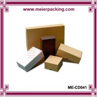 Wholesale Recycle set up kraft business card box/Mail business card stock box ME-CD041 from china suppliers