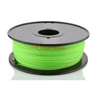 Buy cheap Green 3D Printer Makerbot Filament 1.75mm 3mm ABS For 3D Printing , 1kg / Spool from wholesalers