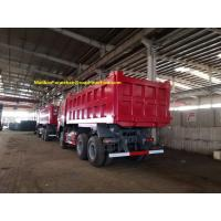 Wholesale 18M3 6x4 30T LHD Commercial Dump Truck SINOTRUK HOWO ZZ3257N3447A Single Berth For Mining from china suppliers